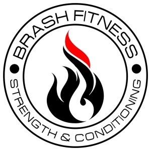 brash fitness strength and conditioning circle logo