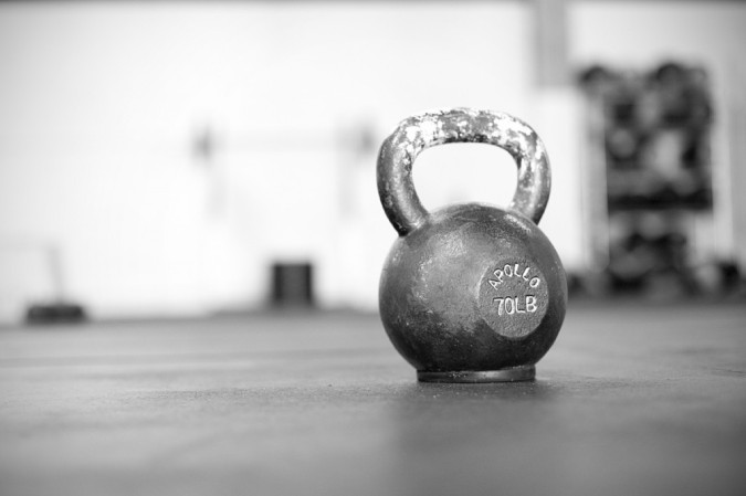 Black And White Kettlebell Pictures