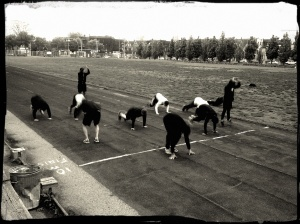 4x400m burpees may 23 2013