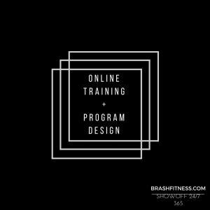 ONLINETRAINING + PROGRAM DESIGN