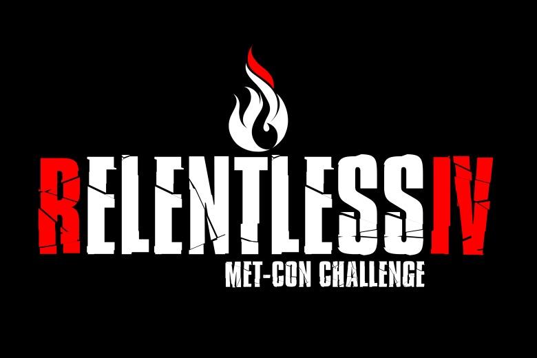 relentless 4 logo blk