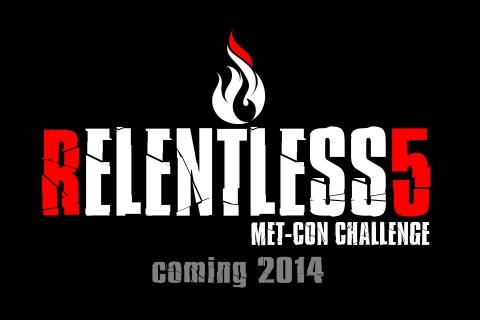 relentless 5 logo coming soon