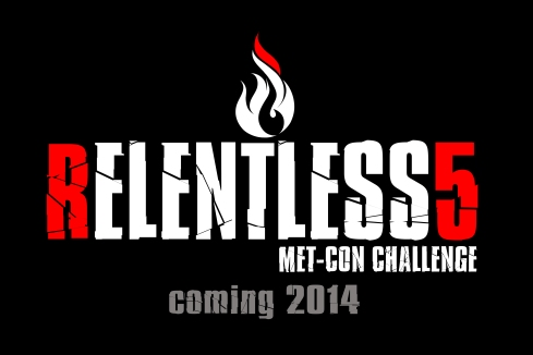 relentless 5 logo coming soon