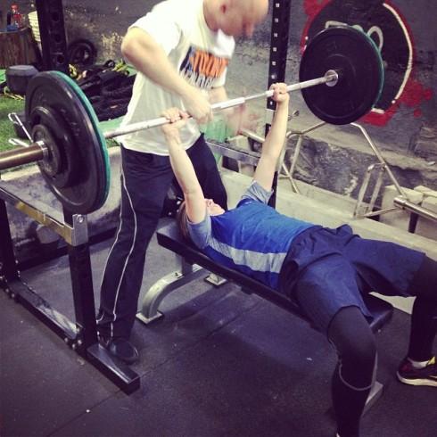 Ela brute strength bench press