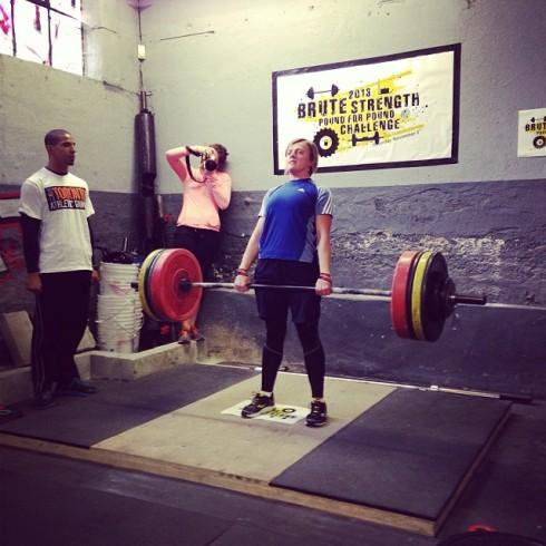 Ela brute strength deadlift