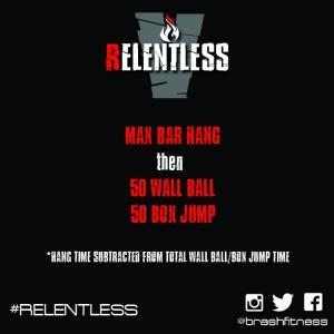 Relentless 5 workout 1