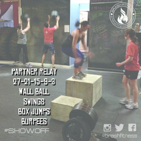 brash fitness partner relay wow
