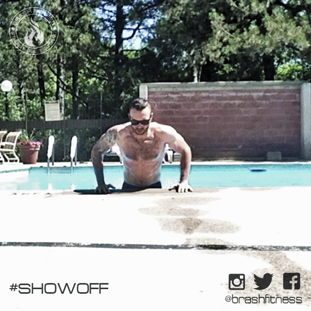 Brash fitness private group training strength for Pool show toronto 2015