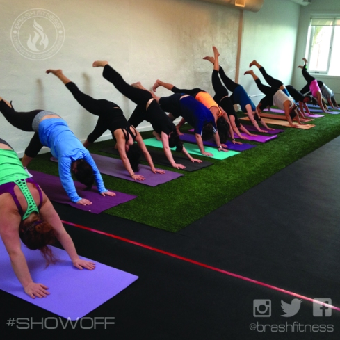 brash fitness yoga BURNflow